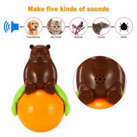 Buy cheap Inventions Pet Tumbler Toy Sound And Light Ball five kinds of sounds product