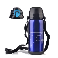 Buy cheap BSCI Double Wall SUS 201 Thermos Vacuum Insulated Bottle product