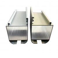 Buy cheap Anodized 6063 Aluminium Door Profiles ISO14001 Listed 0.8-2.0mm Thickness product