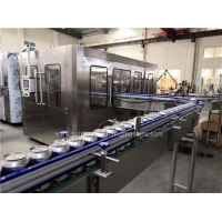 Buy cheap Automatic  500ml 20000CPH Tin Can Filling Sealing Machine product