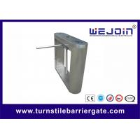 Buy cheap Manual Barrier Tripod Turnstile Gate Optical Pedestrian Security Access Control from wholesalers