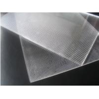 Buy cheap 3D Lenticular Printing material 120cmx240cm 3mm lenticular board for  3D lenticular wedding photo and big size 3d print product