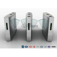 Buy cheap Indoors Flap Barrier Turnstile / Entrance Automatic Bi Directional Turnstile from wholesalers