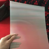 Buy cheap 75LPI 51cmx71cm PET lenticular lens sheet for injekt print and uv print with good Lenticular Printing Effect product