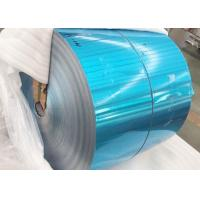 Buy cheap Refrigerator Blue Color Coated Aluminum Coil Roll Standard Export Packaging product