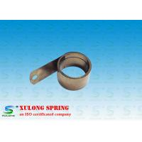 China Power Shelf Pusher Helical Torsion Springs , Flat Spiral Spring 13MM Material Width on sale