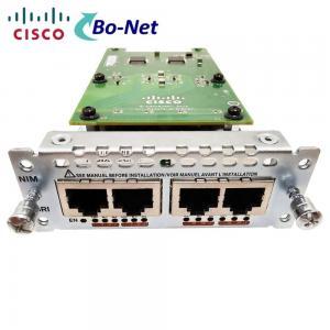 Buy cheap BRI Network Interface Voice Network Module NIM-4BRI-NT/TE Cisco 4 Port Durable product