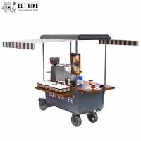 Buy cheap Fast Food Tricycle Coffee Cart Scooter Vending Multifunction product