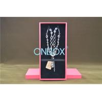 Buy cheap SAP51354 Cardboard Necklace Box In Packer Design In Specialty Paper product