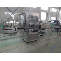 Buy cheap Automatic Sleeve Shrink Labeling Machine , SS304 PET Label Equipment product
