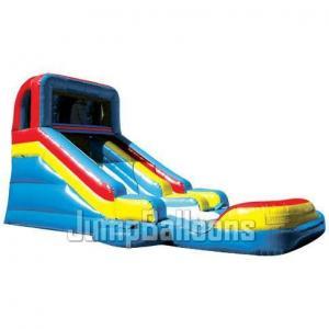 Buy cheap Inflatable Giant Water Slide, Slide N\' Splash With Detachable Pool (J4024) product