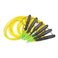 Buy cheap H Connector 1 fiber single mode cable matching with Corning OptiTap Hardened Connectors product