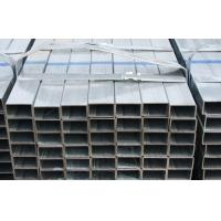 Buy cheap Q235 / Q345 Hot Dipped Galvanized Steel Square Tube For Bridge , Roof Construction product