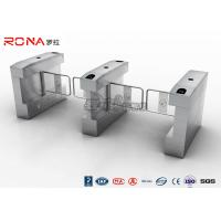 Buy cheap RFID Card Automatic Access Control Turnstile Gate Stainless Steel For Park / Musem product