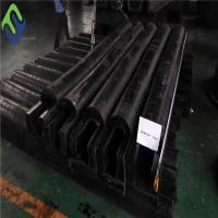 China D type rubber fender for dock bumpers High quality D fender rubber marine rubber fender on sale
