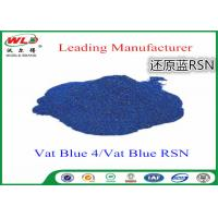 Buy cheap Cotton Dyes Blue Dye Stuff Rsn Vat Blue 4 Chemicals Used In Textile Dyeing product