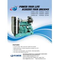 Buy cheap 176KW-251KW 6DL Series of FAW Diesel Engine product
