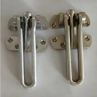 Security hotel-style door guard zinc alloy latch available made of stainless