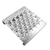 Buy cheap Galvanized Perf - O Grip Strut Grating Walkway & Stair Treads In Silver Color product