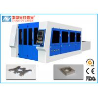 Buy cheap Full Enclosed Metal Fiber Laser Cutting Machine for SS 10mm Thickness product
