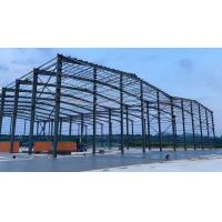 Buy cheap Grey Paint Colored Sheet Roof C Purlin Workshop Steel Structure product