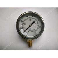 Buy cheap Liquid Pressure Gauge 2.5 inches in diameter with304SS material product