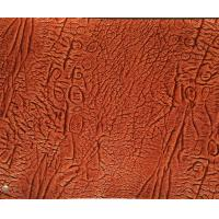Buy quality Cleaning Easily Faux Leather Upholstery Fabric For Funiture , stretch upholstery fabric at wholesale prices