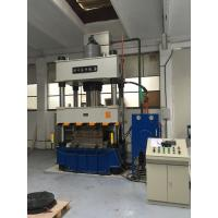 Buy cheap Fully Automatic 400 Ton Hydraulic Press Machine , Four Column Hydraulic Press product