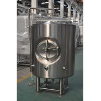 Quality Bar 5HL Jacketed Bright Beer Tank With Stainless Leveling Footpads for sale