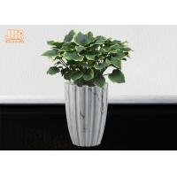 Buy cheap Marbling Clay Flower Pots Fiberclay Plant Pots Large Pot Planters Clay Floor Vases product