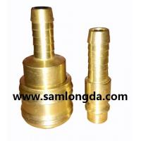 Buy cheap German type quick coupler, air hose coupler, brass material with high pressure 15bar product