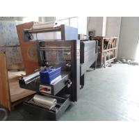 Buy cheap Semi Automatic PE Film Shrink Wrapping Machine 15000 BPH For PET Bottle product