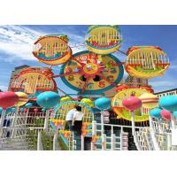 6 Cabins Rotating Amusement Park Ferris Wheel With Galvanized Steel Material