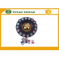 """32"""" Casino Mini Lucky Roulette Wheel Poker Chips Sets With 16pcs Cups Manufactures"""