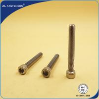 Buy cheap Natural Color Stainless Steel Bolts / Allen bolt DIN912 product