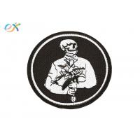 Buy cheap Romantic Logo Custom Motorcycle Patches Pantone Color With Merrow Border product