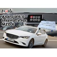 Buy cheap Mazda 6 Sedan Android 6.0 Car Multimedia Navigation System with Knob / steering wheel contorl Waze Spotify from wholesalers