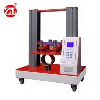 Buy cheap Core Tube Compression Packaging Testing Equipment For Yarn Tape / Paper Tins from wholesalers