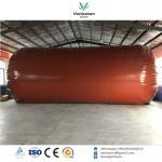 Biogas plant Anaerobic fermentation tank biogas digester with double membrane