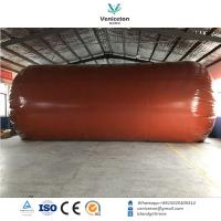 Buy cheap Biogas plant Anaerobic fermentation tank biogas digester with double membrane from wholesalers