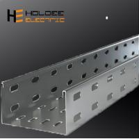Buy cheap Electro Zinc Plated Steel /Ventilated Or Perforated Trough Cable Tray From China Jiangsu from wholesalers