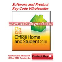 Buy quality Microsoft Office 2010 Product Key For Office Home and Student 2010 OEM key at wholesale prices