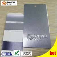 Buy cheap Chemical Resistant Polyester Resin Coating Deep Gray Shingled Silver Color product