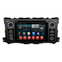 Buy cheap Nissan Teana 2014 Car GPS Navigation System Capacitive Touch Panel Android 4.1 product