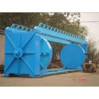 Hydrostatic test machine on GRP pipes