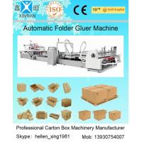 Buy cheap Automatic Folder Gluer Carton Packaging Machinery 14.5KW 380V 50HZ , 3 Phase from wholesalers