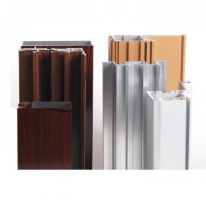 Buy cheap Furniture Decoration Customized Aluminum Wood Frame Profiles Square Tube product