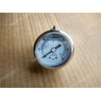"Buy cheap 1.5"" ( 40mm ) Back Entry Pressure Gauge with Steel Chrome Plated Case 	0-60psi product"