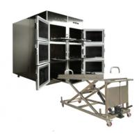 Buy cheap ROUNDFIN morgue six body mortuary refrigerator/6 corpse morgue freezer for sale product