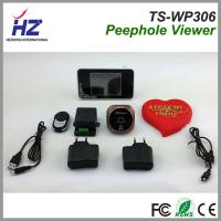 Buy cheap 200 meters transmission robust anti-interference wireless peephole viewer camera product